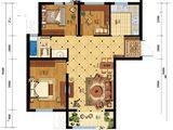 凯旋大道_3室2厅1卫 建面89平米