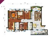 碧桂园太阳城_4室2厅2卫 建面141平米