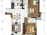 碧桂园太阳城_3室2厅2卫 建面119平米