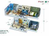 名门翠园_2室2厅2卫 建面52平米