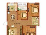 祝福红城_3室2厅1卫 建面89平米