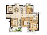 新城玺樾门第_3室2厅2卫 建面105平米