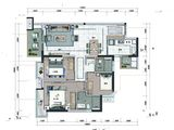 招商雍和府_3室2厅2卫 建面97平米