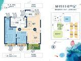 碧桂园西湖_3室2厅2卫 建面118平米