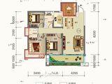 金钟美墅湾_4室2厅2卫 建面113平米