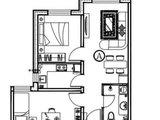 大运河智慧街区_2室1厅1卫 建面66平米