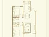 水岸香园_2室2厅2卫 建面88平米