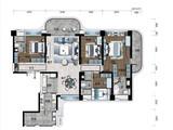 海南碧桂园中央半岛_4室2厅3卫 建面193平米